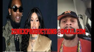 Atlanta GD Gang member THREATENS Offset & Cardi B!CRAZY MUST WACTH!