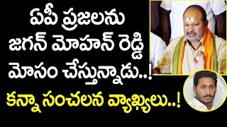 CM Jagan deceiving AP people on special status: BJP AP chi..