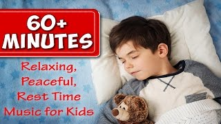 Over 60 Minutes of Rest Time Music for Kids |  Peaceful Songs to Go to Sleep To | Jack Hartmann - YouTube
