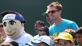 ATP Tennis Emirates Clinic w/ Peers, Tecau