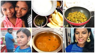 #DIML Routine Vlog/Telangana Tomato Rasam Making/Goru Chikkudu Fry/Hubby Helped Me A lot In Kitchen