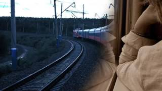 Calm Sleep with Train Sounds  10 Hour lulling sound of a train