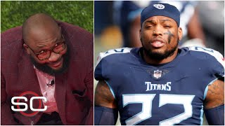 Marcus Spears is reeling about Derrick Henry's game against the Ravens | SportsCenter