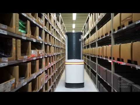 A Dexterous Warehouse Robot Does Things Amazon's Automated Helpers Can't