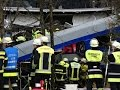 AP-10 killed, 100 injured in German train crash..