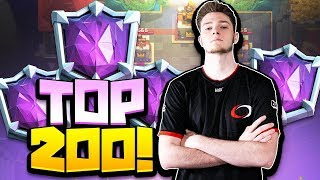Top 200 Ladder Finish 6400 Ultimate Champion - Clash Royale
