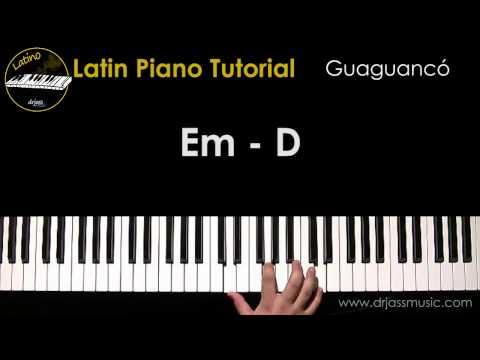DRJASSMUSIC Latin Piano Tutorial - Guaguanco (Español)