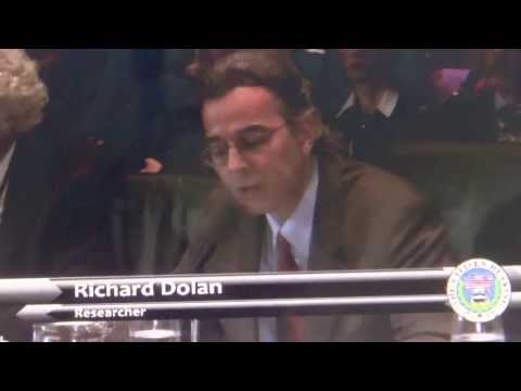 Richard Dolan, UFO speech, Best speech ever, Citizen Hearing