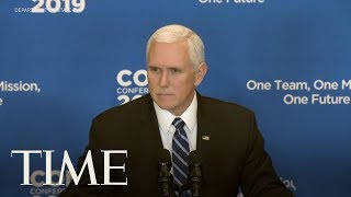 Mike Pence: ISIS 'Caliphate Has Crumbled' In Speech After U.S. Troops Killed In Syria Attack | TIME