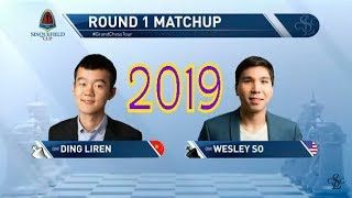 2019 Sinquefield:Ding Liren Attacks Attacks Attacks but Is Wesley So Strong Enough To Hold Him Back?