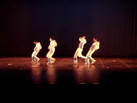 Coreografía Hip Hop primer lugar CIAD Quito 2009 (Tanz Regens mayores2)