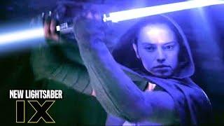 Star Wars! Rey's New Lightsaber In Episode 9! The Problem & More