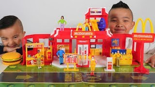 Biggest McDonald's Drive Thru Playset Vintage CKN Toys