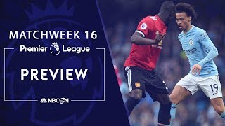 Premier League preview: High-stakes Manchester Derby   NBC Sports