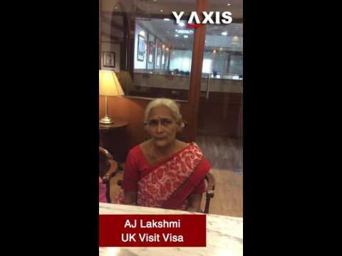 AJ Lakshmi UK Visit Visa  Joseph Ambati