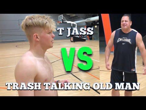TRASH TALKING OLD MAN GETS EXPOSED! 1v1