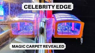 Celebrity Edge Magic Carpet | Amazing Cruise Ship Dining