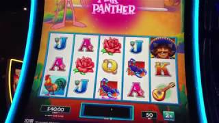 Live play on pink panther mega mariachi slot machine