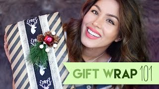 How to Wrap a Gift in Under a Minute | MeganBatoon