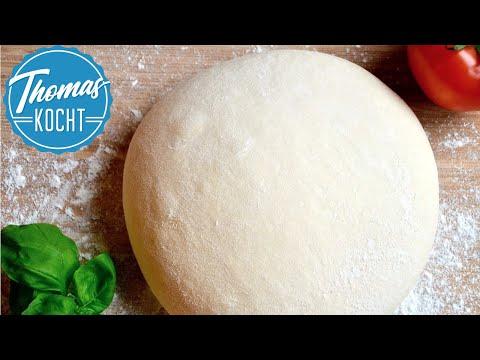 Pizzateig selber machen - Grundrezept