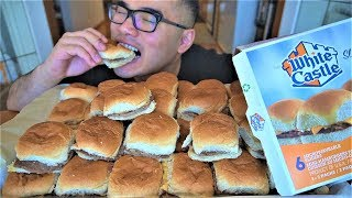 First time eating WHITE CASTLE Burgers