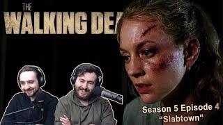 """The Walking Dead Season 5 Episode 4 Reaction """"Slabtown"""""""