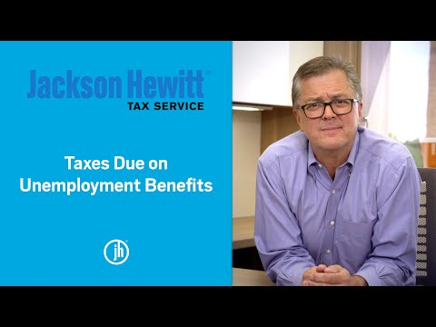 Jackson Hewitt's Chief Tax Information Officer, Mark Steber, discusses what taxpayers need to know about unemployment benefits and taxes.