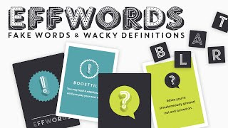 EFFWORDS Party Game - How To Play (Full)