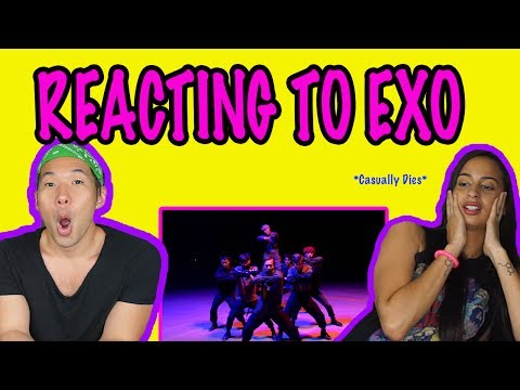 REACTING TO EXO FOR THE FIRST TIME (EXO - MONSTER)