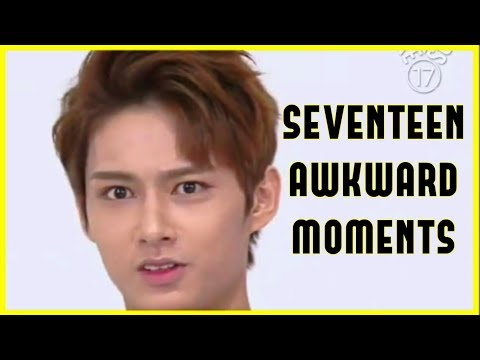 😁[PART 1] Seventeen Awkward Moments😁