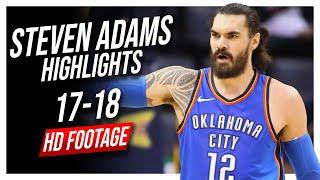 Thunder C Steven Adams 2017-2018 Season Highlights ᴴᴰ