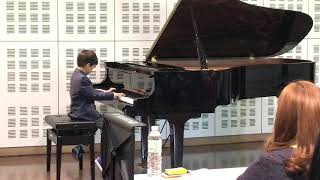 Mozart The Piano Sonata No.16 in C Major ( Young Artist Music Contest ) by Lennon 7Y