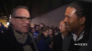 Tom Hanks Reacts to President Obama's Farewell Address