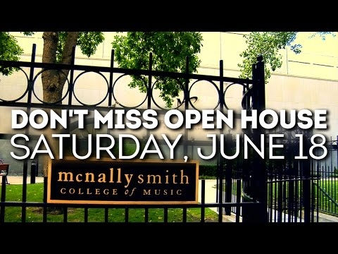 PREVIEW: Open House @ McNally Smith – June 18, 2016