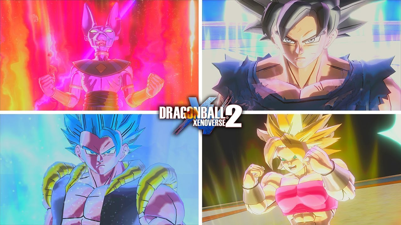 All Dragonball Super Character Transformations Dragonball