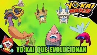 Yo-Kai Watch para 3DS: Yo-kai que evolucionan