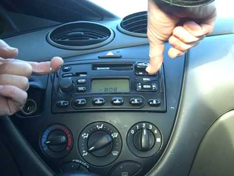 ford focus car stereo removal repair and others youtube. Black Bedroom Furniture Sets. Home Design Ideas