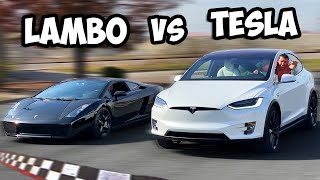 If You Beat My Tesla In A Race... You Get To Keep It!