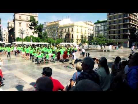 Flashmob de la Joven Banda Sinfónica de la FSMCV