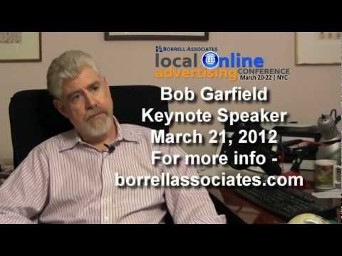 Bob Garfield - 'The future isn't in hyper-local news'