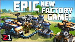 EPIC New Factory Game *SATISFACTORY MEETS FACTORIO* ! Dyson Sphere Program Episode 1 | Z1 Gaming