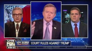 Guest on Lou Dobbs Tonight - Fox Business Network  (2/9/17) - Discussing Immigration Executive Order