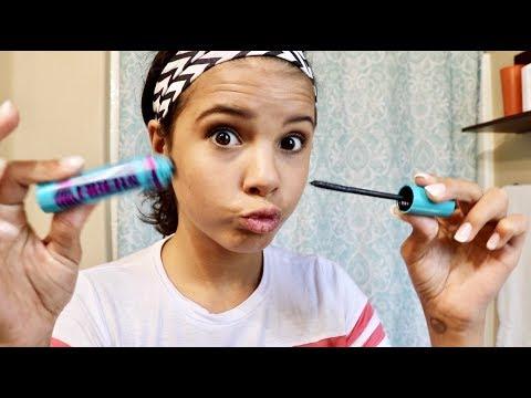 Teen Tries Makeup First Time