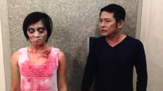 Tấn Beo gặp Ma tại thang Máy ( smartphone ghi hình )