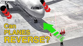 Can planes REVERSE out of the GATE? POWERBACK procedure explained by CAPTAIN JOE