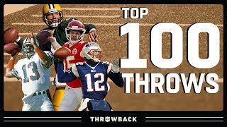 Top 100 Throws in NFL History!