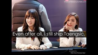 [백합] TaengSic is trash 2018 | Taeyeon x Jessica