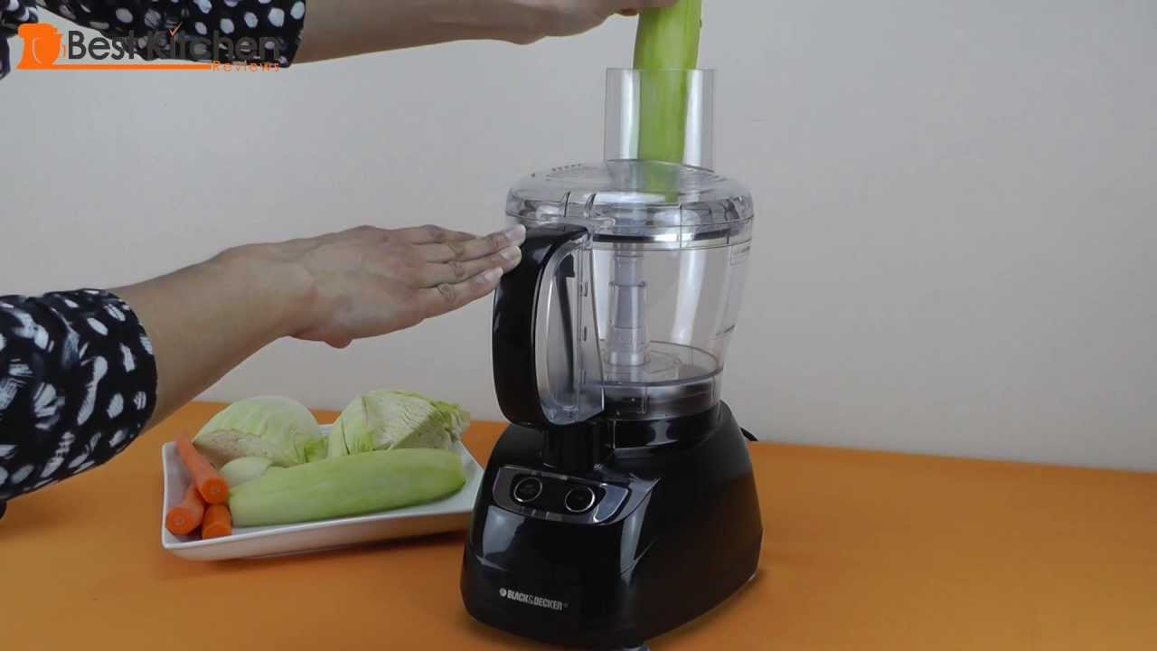 How To Assemble Black And Decker Food Processor