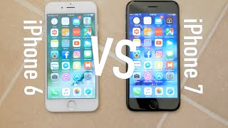 iPhone 6 and iPhone 7 Comparison