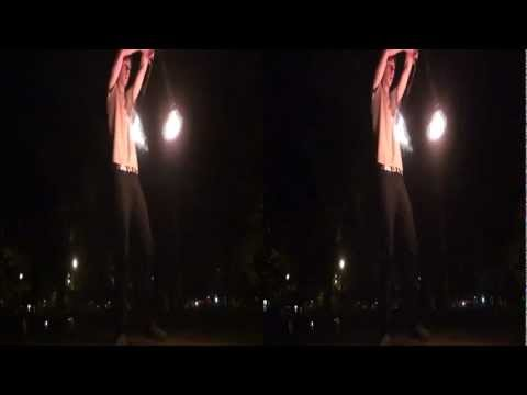 3DHD Fire arts practice Parc Lafontaine Great balls of fire!